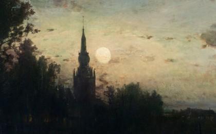 Clair de lune à Overschie (environ de Rotterdam)
