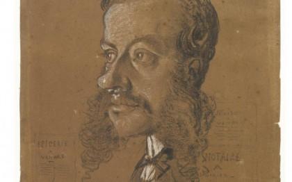 Premiers portraits : Monet et la caricature