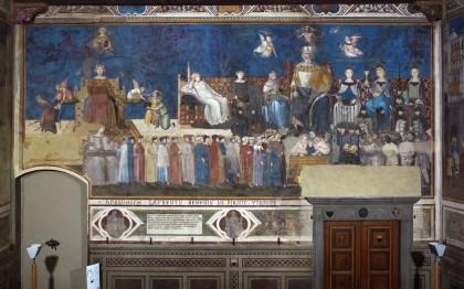 La fresque du bon et mauvais gouvernement, Ambrogio Lorenzetti