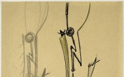 Étude pour « L'Ange, l'Insecte, la Danseuse »