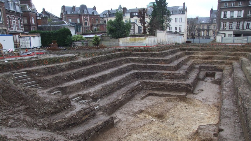 ROUEN SOUTERRAIN 2 - Les heurts publics à Rouen au XVIe siècle