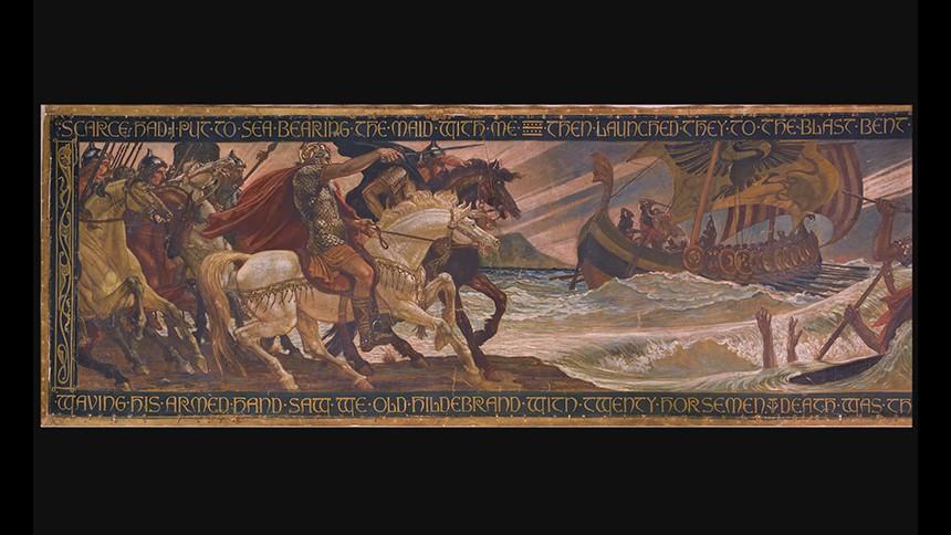 Une frise viking  pour le musée des Beaux-Arts